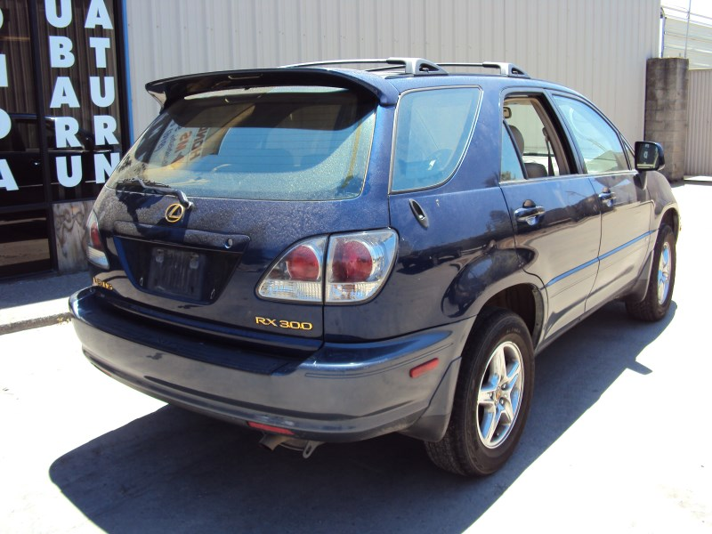 2001 lexus rx300 std model suv 3.0l v6 at awd color blue z13473