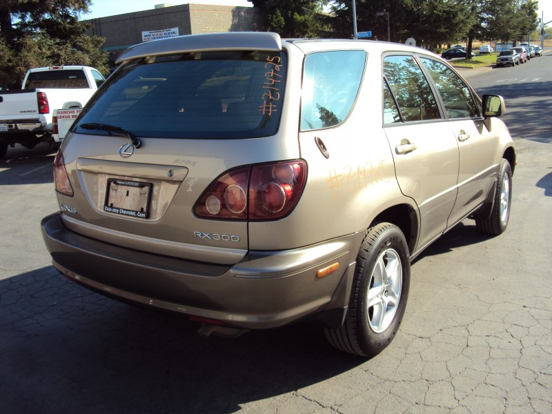 1999 LEXUS RX300 STD MODEL 3.0L V6 AT AWD COLOR GOLD Z14725 ...