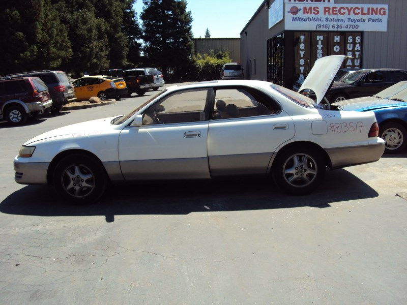 1993 LEXUS ES300 MODEL 4 DOOR SEDAN 3.0L V6 AT 2WD COLOR WHITE ...