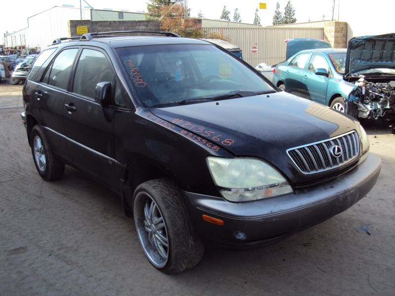 2001 lexus rx300 3 0l v6 at fwd color black z13568 rancho. Black Bedroom Furniture Sets. Home Design Ideas