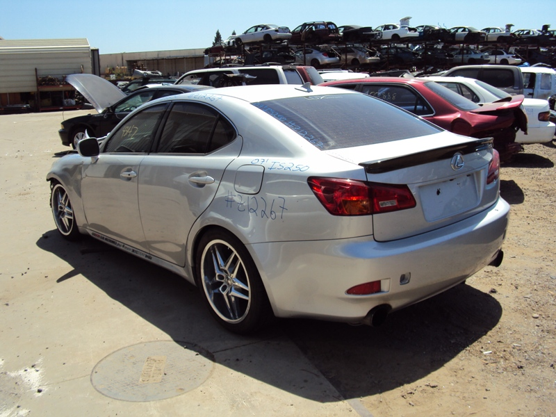 ... 2007 LEXUS IS 250 2.5L AT RWD COLOR SILVER STK Z12267