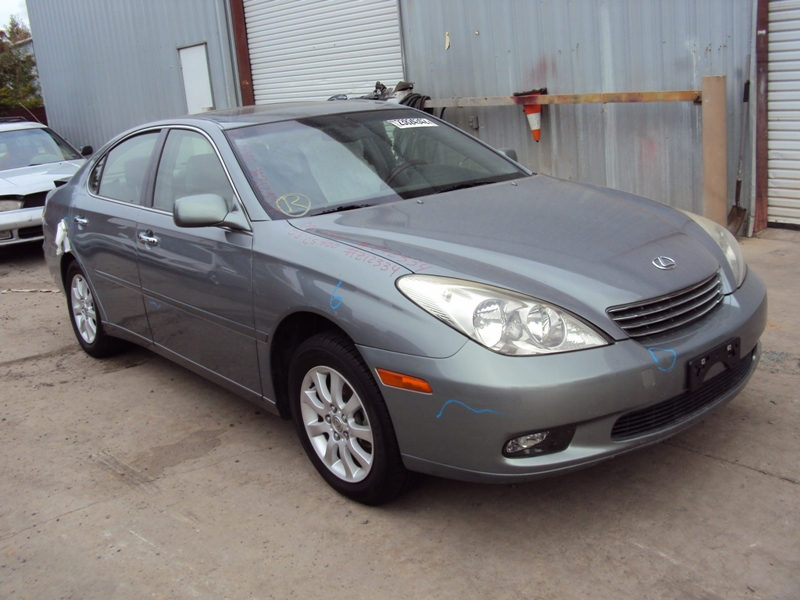 ... 2003 LEXUS ES300 4 DOOR SEDAN 3.0L AT COLOR GRAY STK Z12334