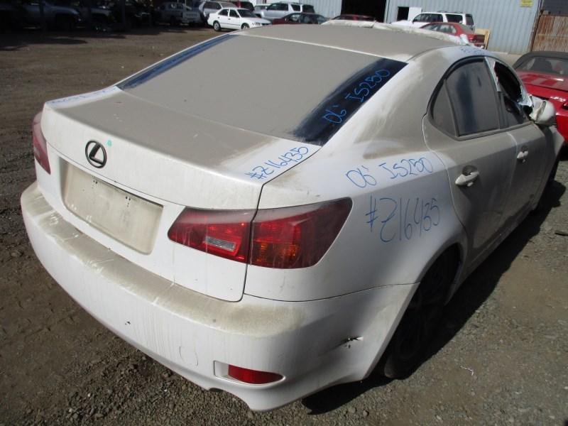 2006 LEXUS IS250 WHITE 2.5L AT Z16435 ...