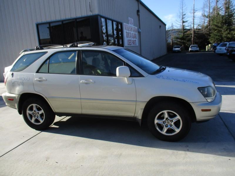 1999 LEXUS RX300 PEARL WHITE 3.0L AT 4WD Z17609 ...