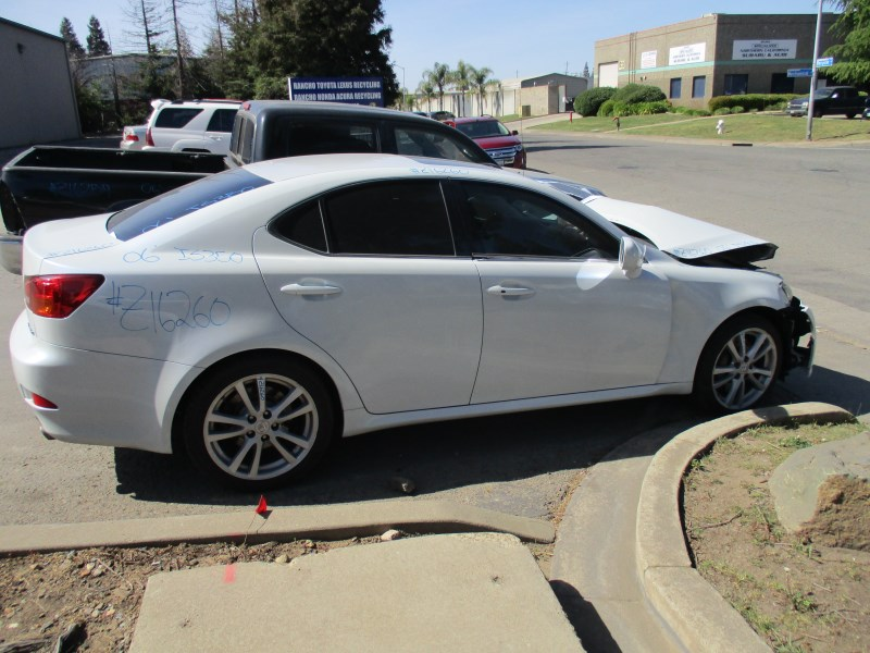 2006 LEXUS IS350 PEARL WHITE 3.5L AT Z16260 - RANCHO LEXUS RECYCLING