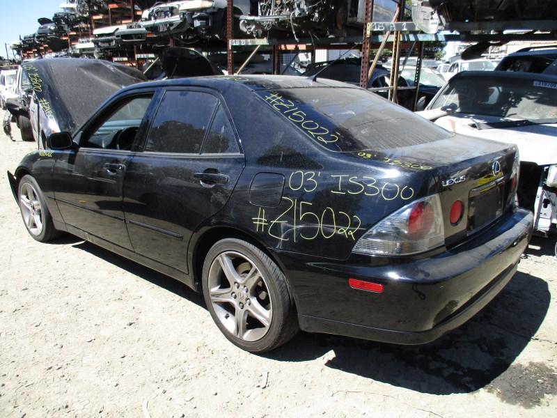 Superb ... 2003 LEXUS IS300 BLACK 3.0L AT Z15022