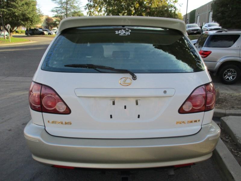2000 LEXUS RX300 PEARL WHITE 3.0L AT 4WD Z15045 ...