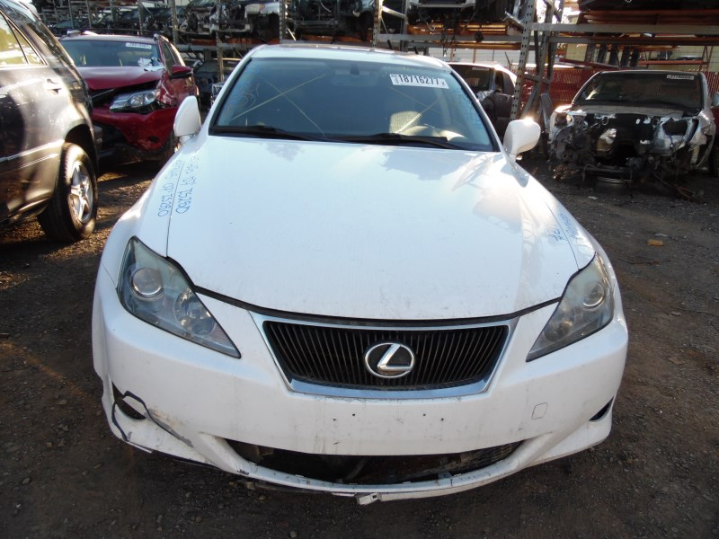 ... 2007 LEXUS IS250 WHITE 2.5L AT Z17645