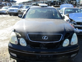 2005 LEXUS GS430 BLACK 4.3L AT Z16558