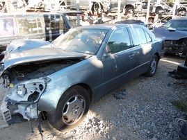 2002 LEXUS LS 430 GREEN 4.3 AT Z19800