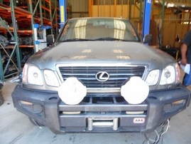 1999 LEXUS LX470 DARK GREEN 4.7L AT 4WD Z18242